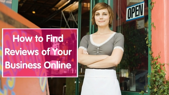 how to find reviews of your business online