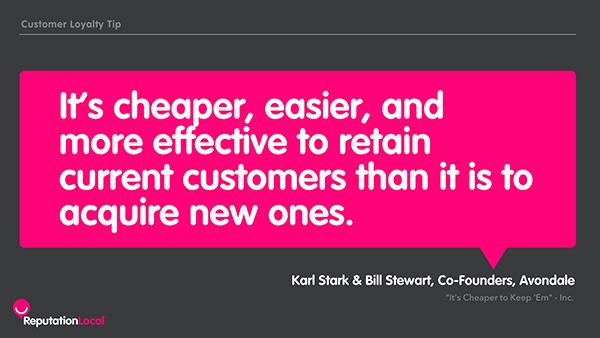 Customer Loyalty tip
