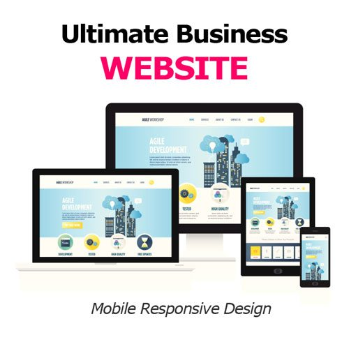 ultimate business website design for small business